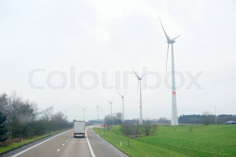 Stock image of 'Belgium, central Europe, February, 5, 2016: traffic on a highway in Belgium, Europe'
