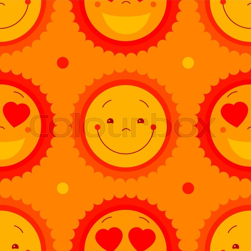 Yellow vector abstract seamless pattern background with ...