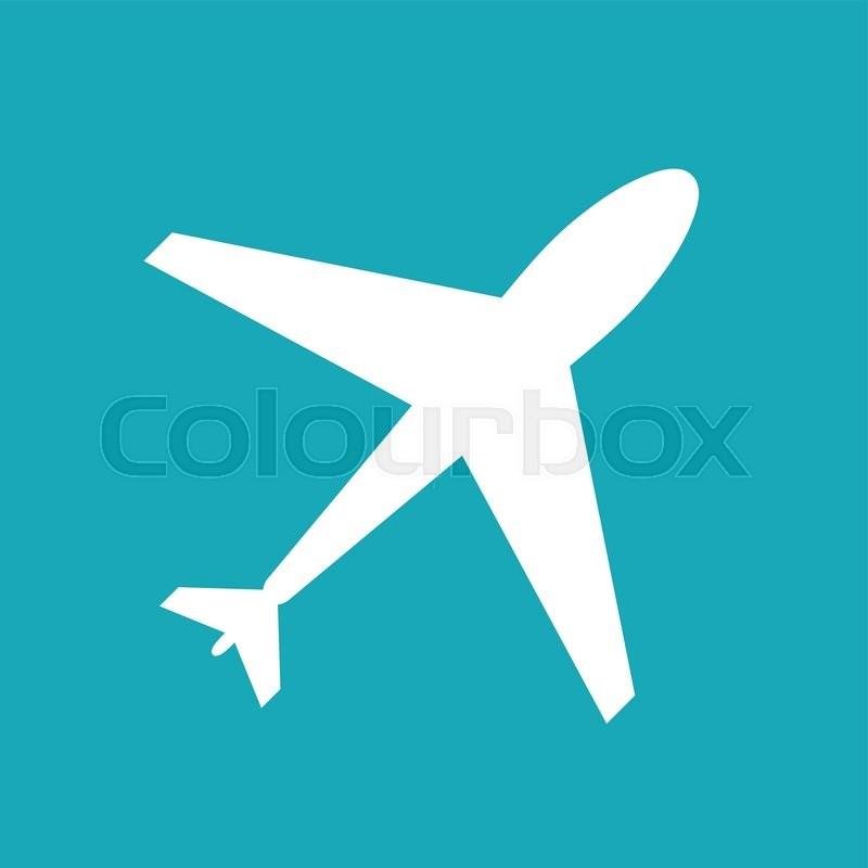 flight web icon airplane symbol plane airport sign