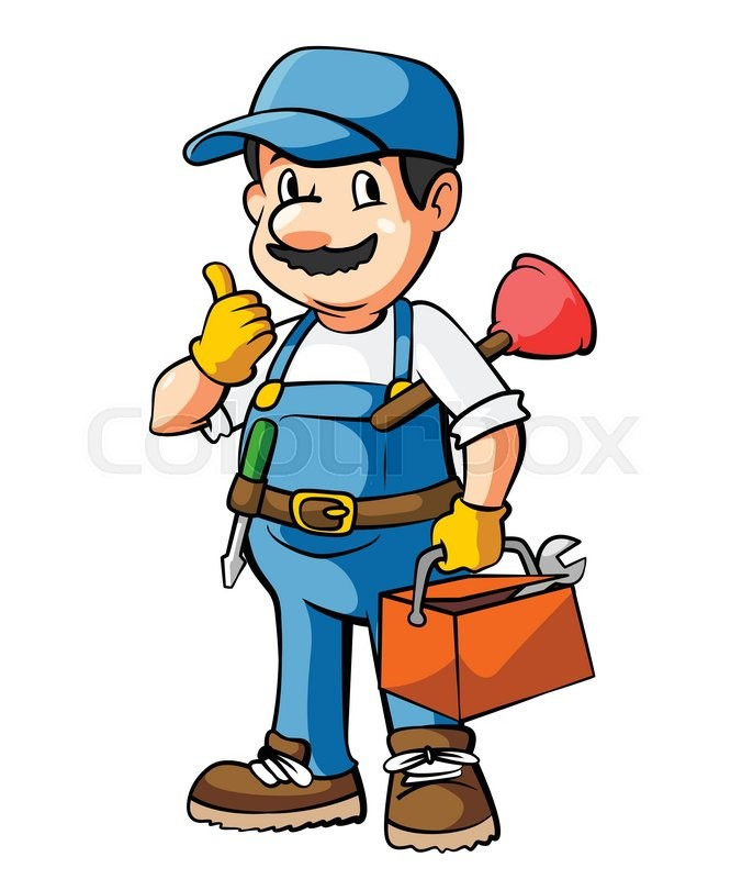 300+ Cartoon Plumbing Photos and Images | CrystalGraphics