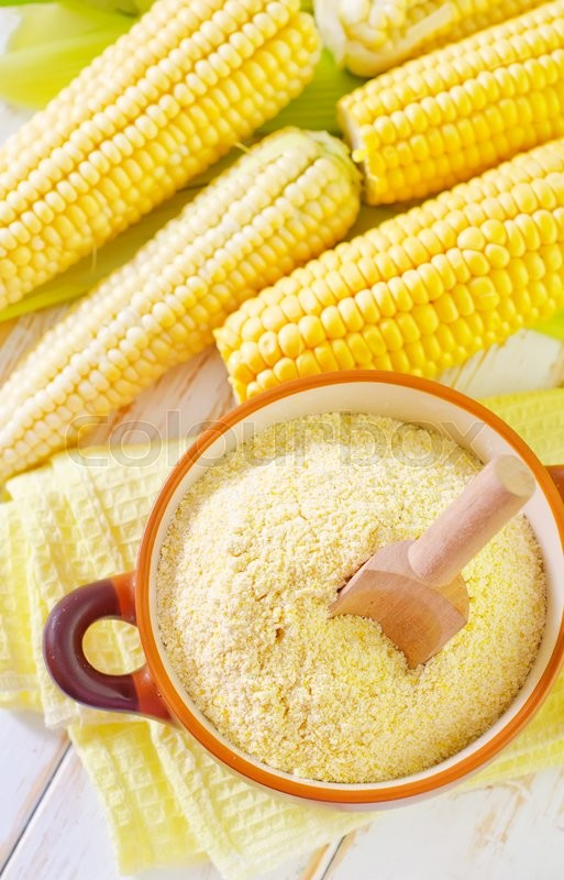 Stock image of 'Corn flour'