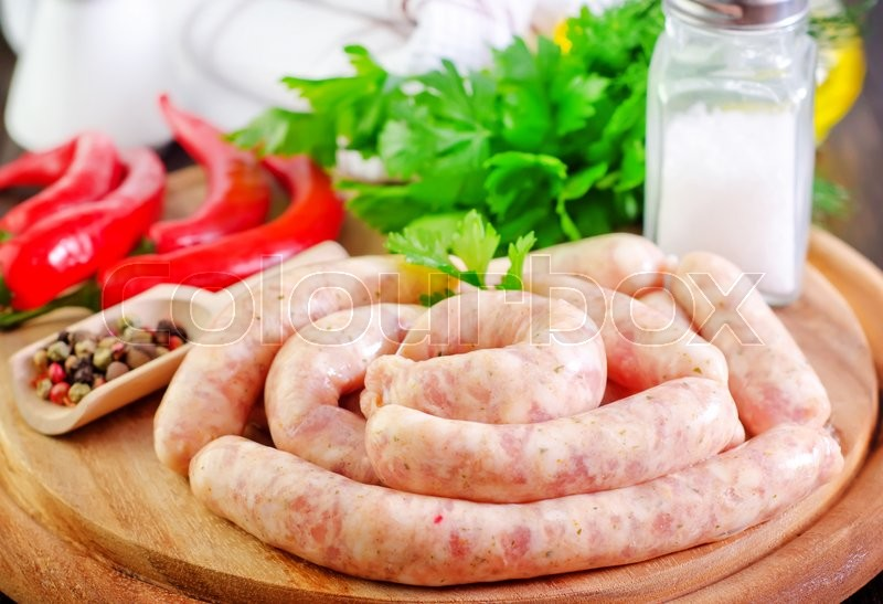 Stock image of 'Sausages'