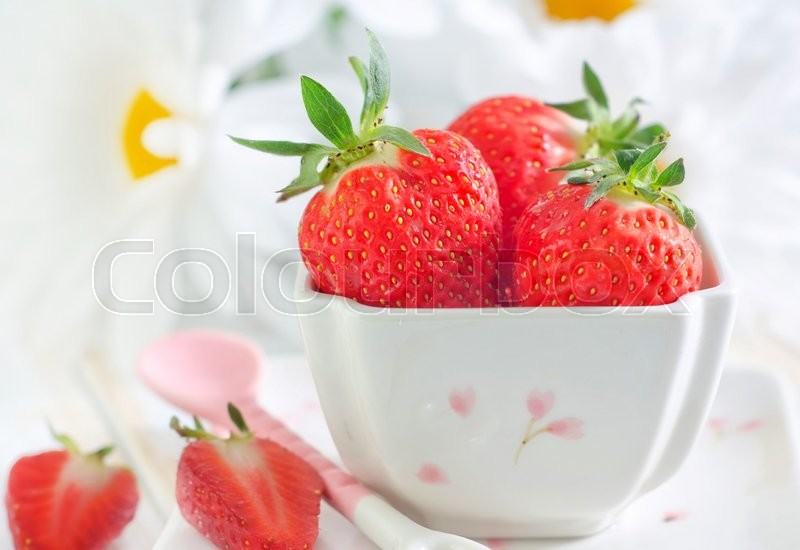 Stock image of 'Strawberry'