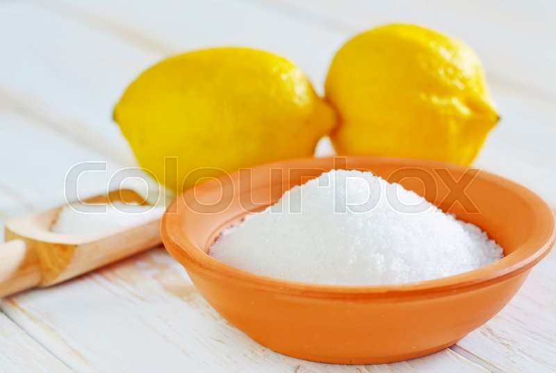 Stock image of 'Acid and lemons'