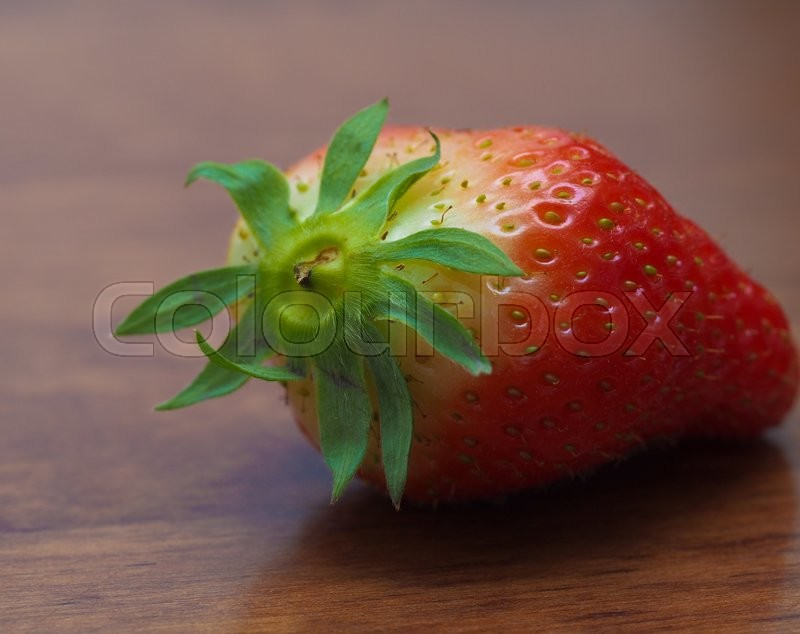 Stock image of 'Fresh strawberry'