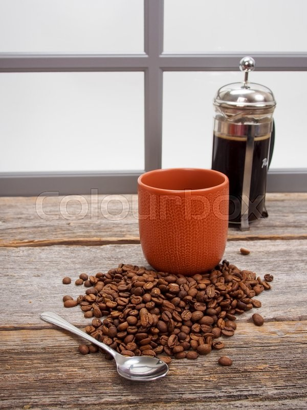 Stock image of 'Fresh rosted coffee beans'