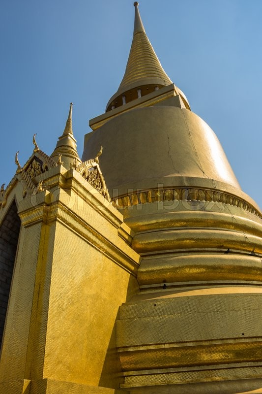 Stock image of 'Wat Phra Kaew is one of the most popular tourists destination in Thailand'