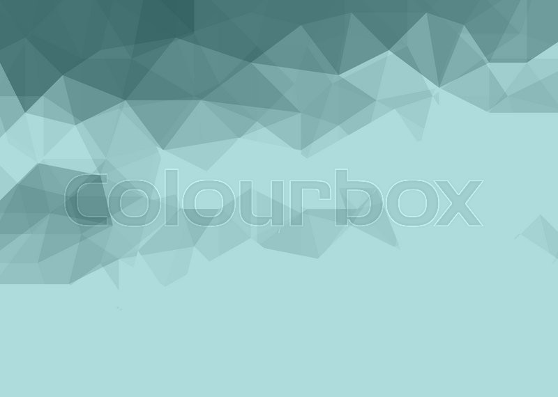 Stock image of 'black and white abstract low poly background made of triangles'