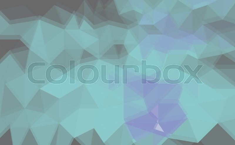 Stock image of 'abstract low poly background made of triangles'