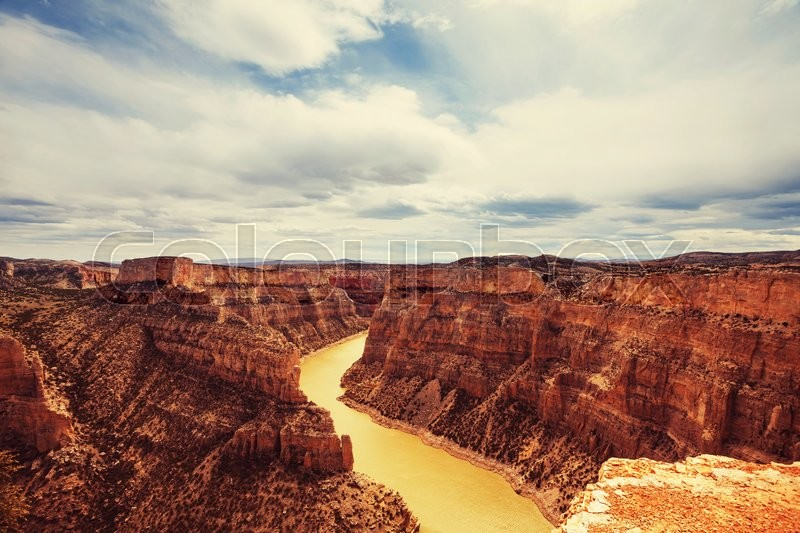 Stock image of 'Bighorn Canyon National Recreation Area'