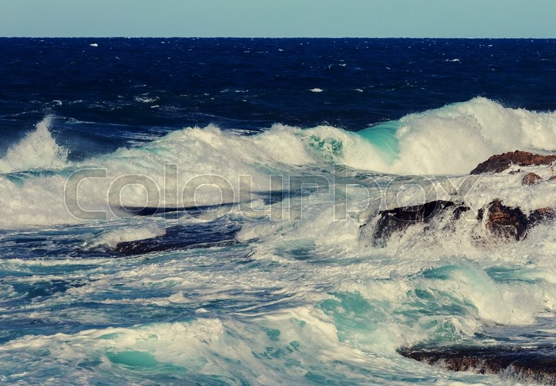 Stock image of 'Beautiful sea shore in Cyprus'