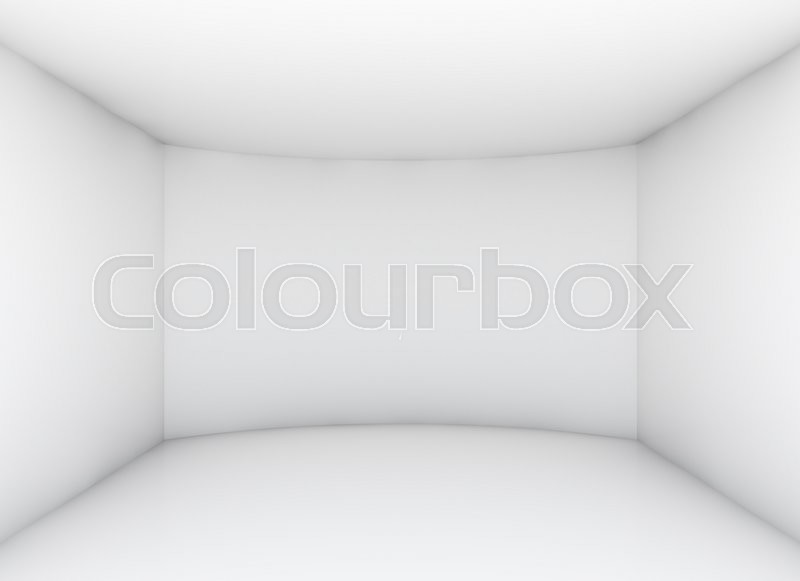 Stock image of 'Empty clean room for exhibition product. Business or web template. 3d rendering'
