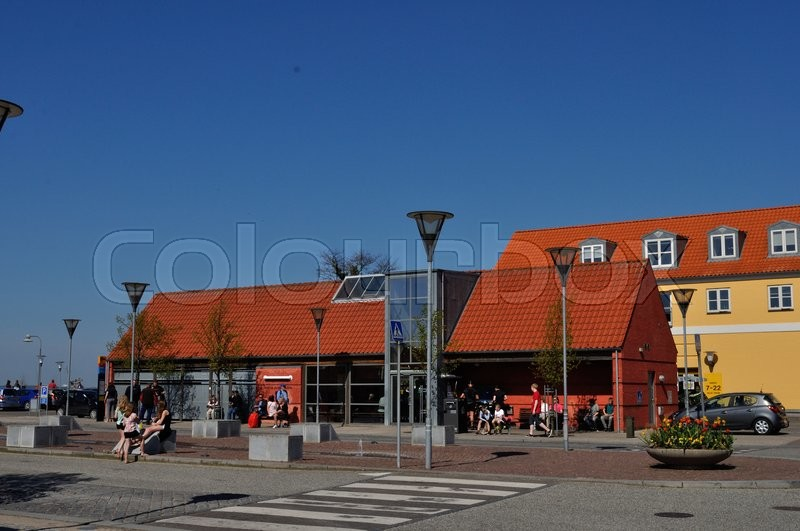 Editorial image of 'præstø, busstation, rutebilstation'