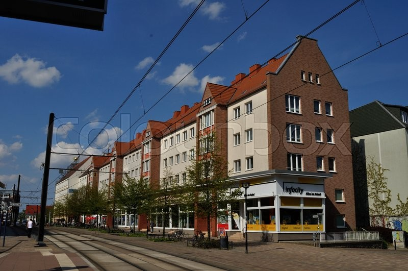 Editorial image of 'rostock, centrum, midtby'