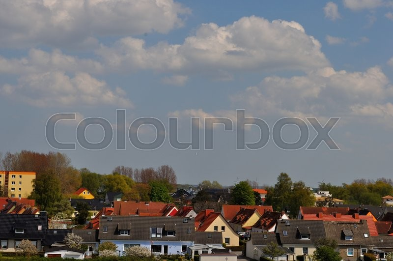 Stock image of 'rostock, germany, hohe'