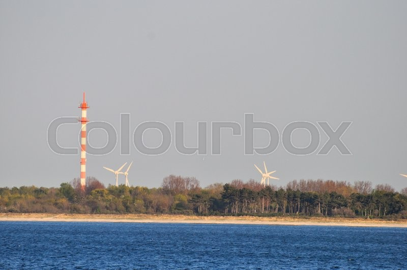 Stock image of 'rostock, strand, kyst'