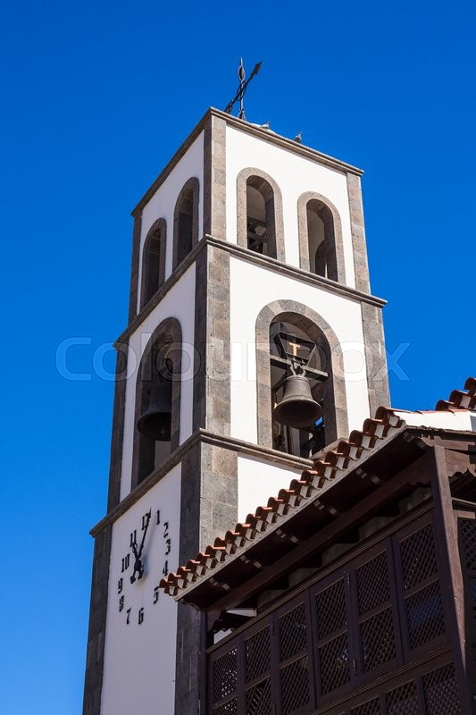 Stock image of 'Church on the Canary Island Tenerife.'