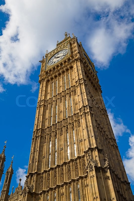 Editorial image of 'Famous  Parliament building in London, UK.'