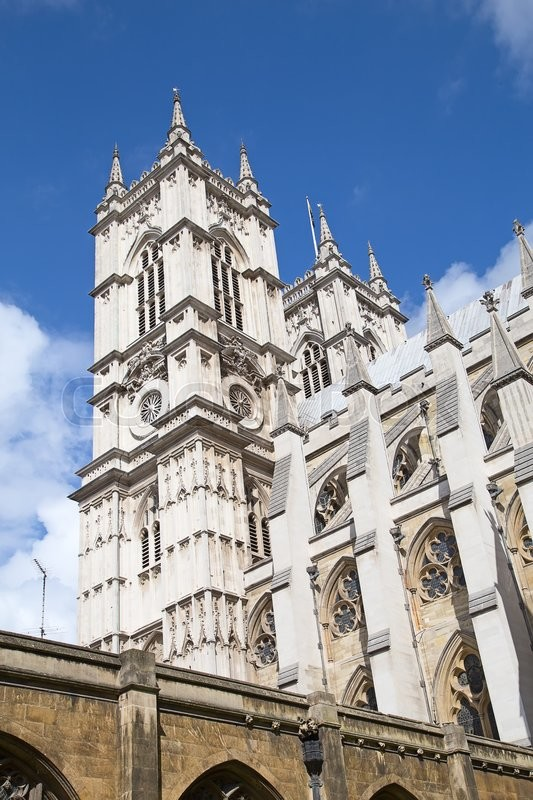 Editorial image of 'Westminster abbey in London, UK'