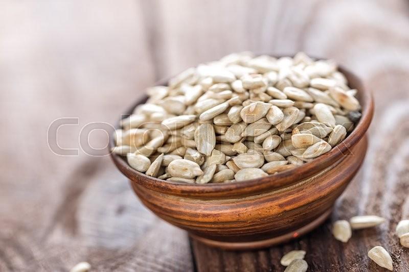 Stock image of 'Sunflower seeds'