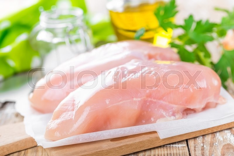 Stock image of 'Chicken fillet'