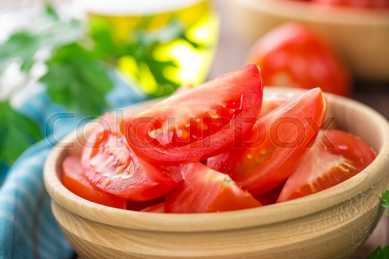 Stock image of 'Tomatoes'