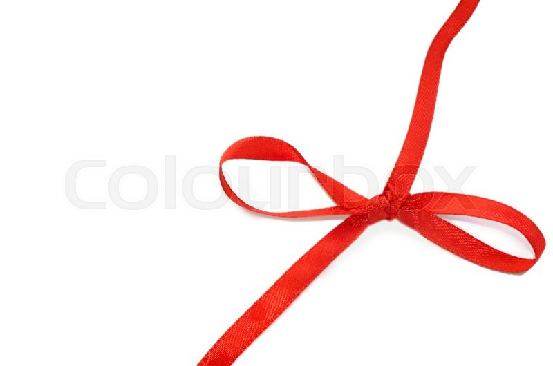Stock image of 'Red ribbon patterns'