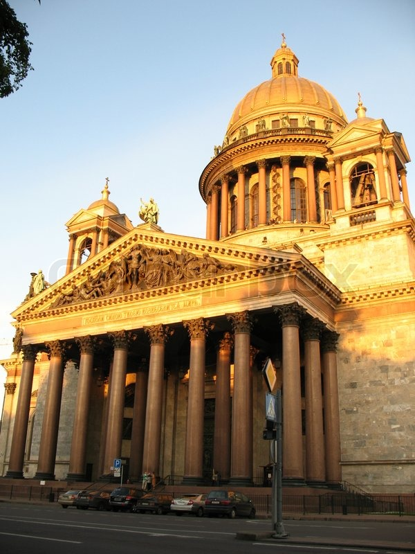the historical building in peterburg in stock photo colourbox