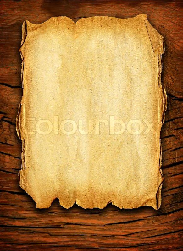 altes papier auf holz stockfoto colourbox. Black Bedroom Furniture Sets. Home Design Ideas
