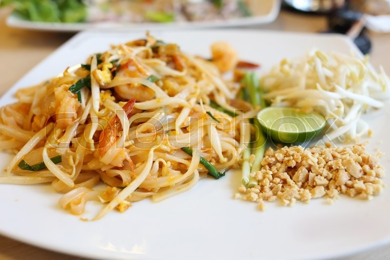 Stock image of 'Pad thai, stir thailand traditional of thai food'