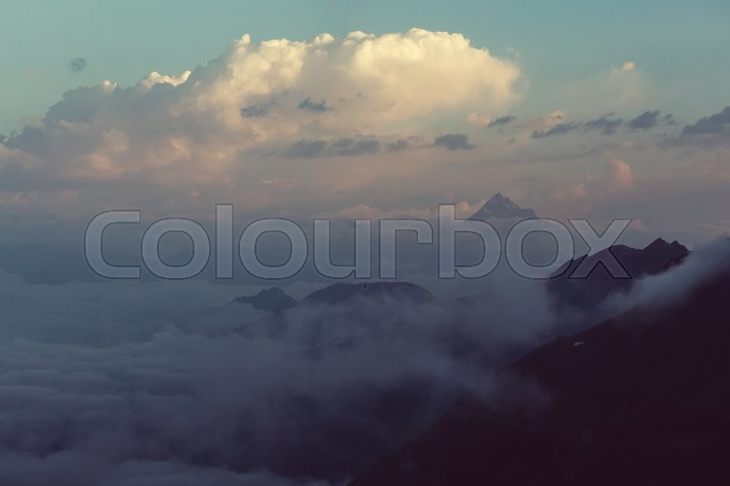 Stock image of 'Caucasus mountains'