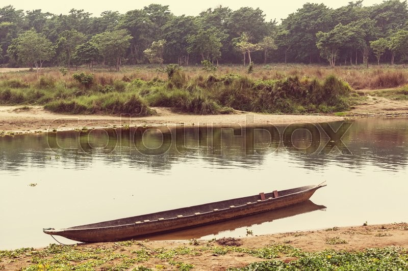 Stock image of 'Chitwan in Nepal'