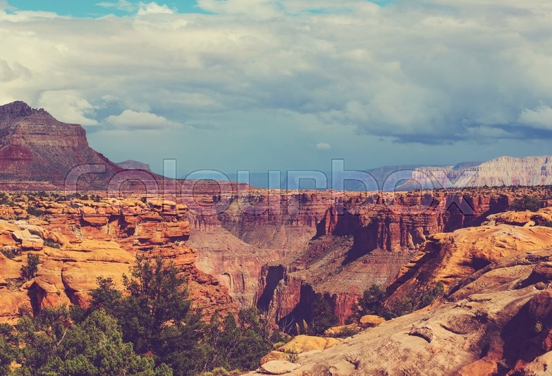 Stock image of 'Picturesque landscapes of the Grand Canyon'
