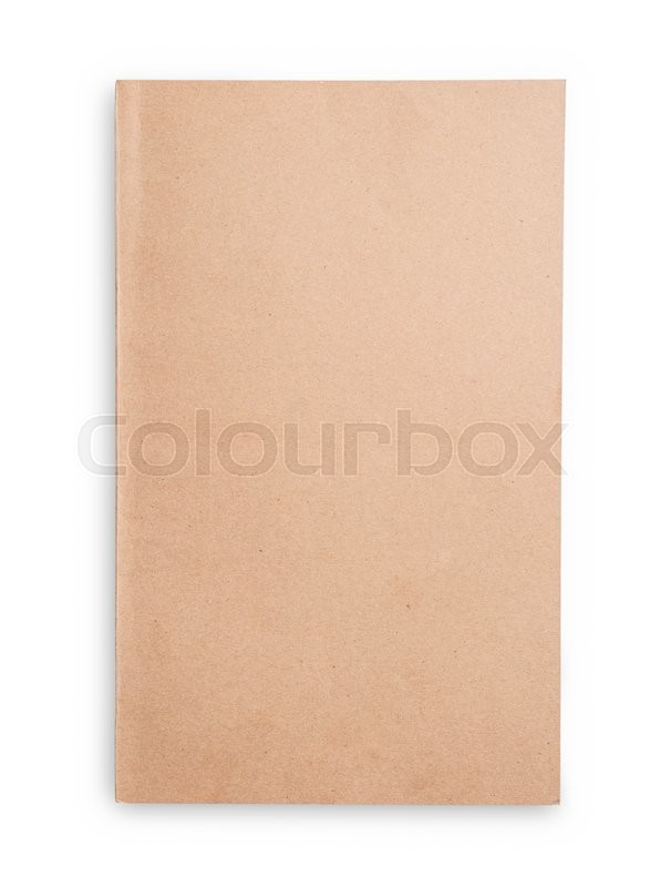 Stock image of 'Notepad isolated on white background'