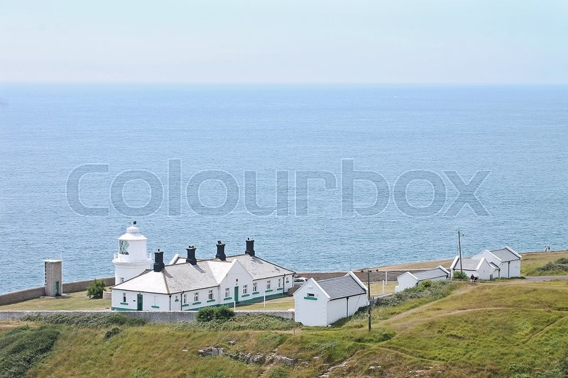 Editorial image of 'The Anvil Point Lighthouse is a lighthouse located near Swanage in Dorset.'