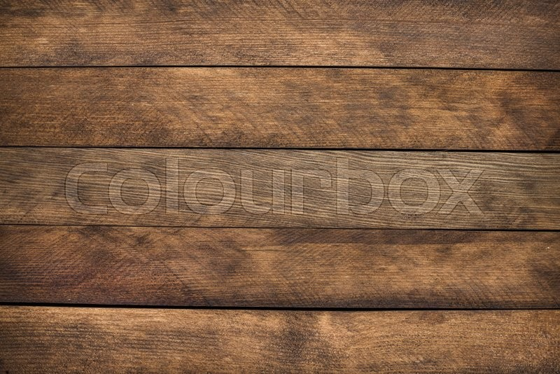 Stock image of 'Brown wooden texture. Vintage rustic style. Natural surface, background and wallpaper. Toned'