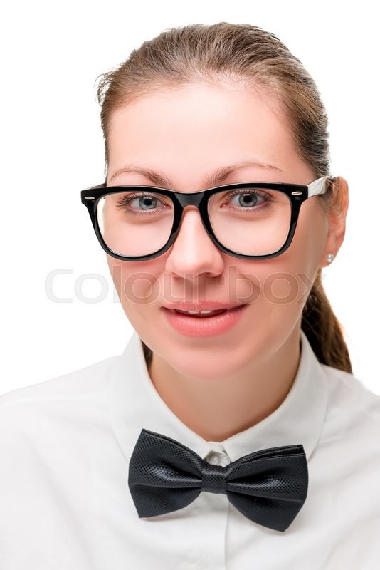 Stock image of 'Businesswoman shot on a white background in the studio'