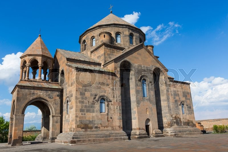 Editorial image of 'Saint Hripsime Church, Echmiadzin, Armenia\\ '