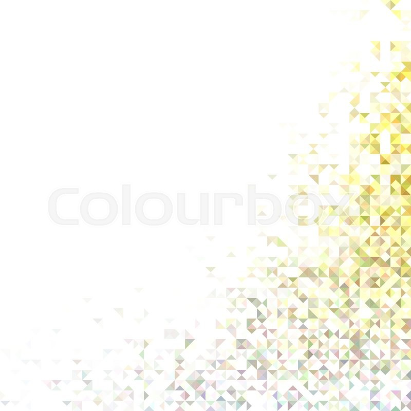 Abstract triangle mosaic vector     | Stock vector | Colourbox