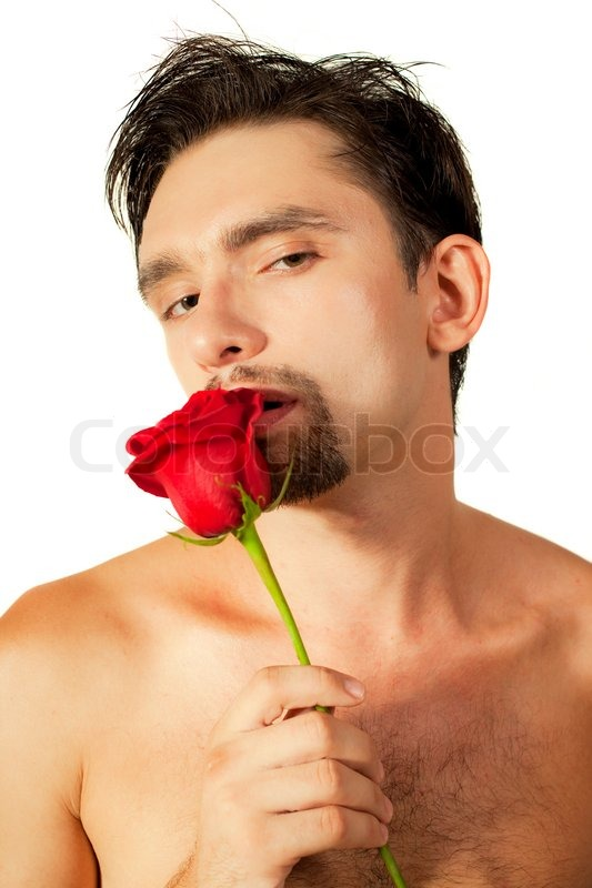 nude-guy-with-rose