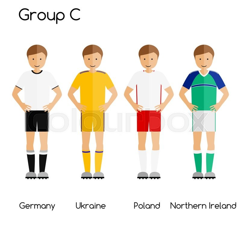4c527b625a7 Football team players. Group C - ...