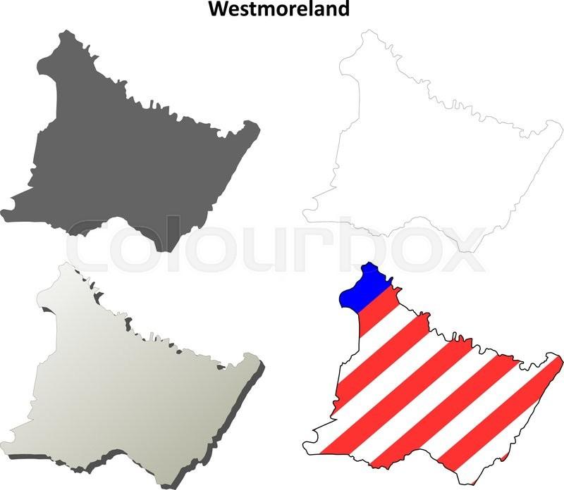 Westmoreland County, Pennsylvania       Stock vector   Colourbox