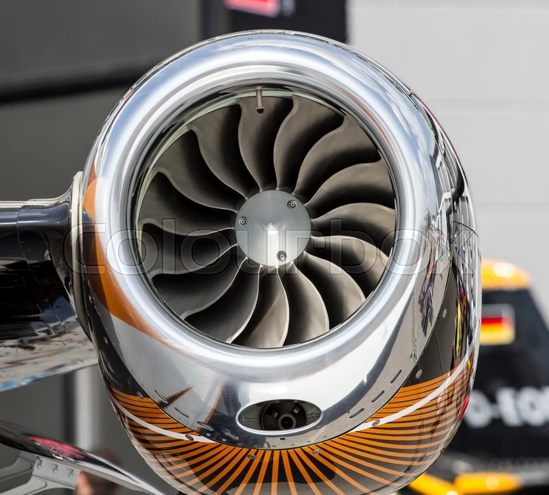 Stock foto af 'turbojetengine, airplane, aerospace'