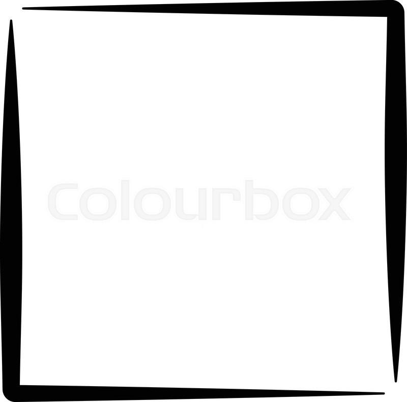 Square Format Photo Frame Photo Stock Vector Colourbox