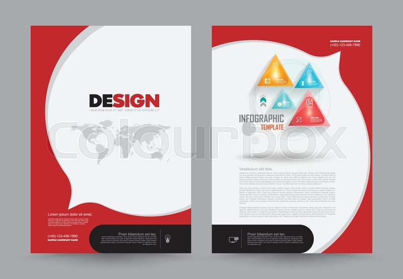 Cover Annual Report Leaflet Brochure Flyer Template A4 Size Design, Book  Cover Layout Design, Abstract Presentation Templates, Business Report  Template.  Annual Report Template Design
