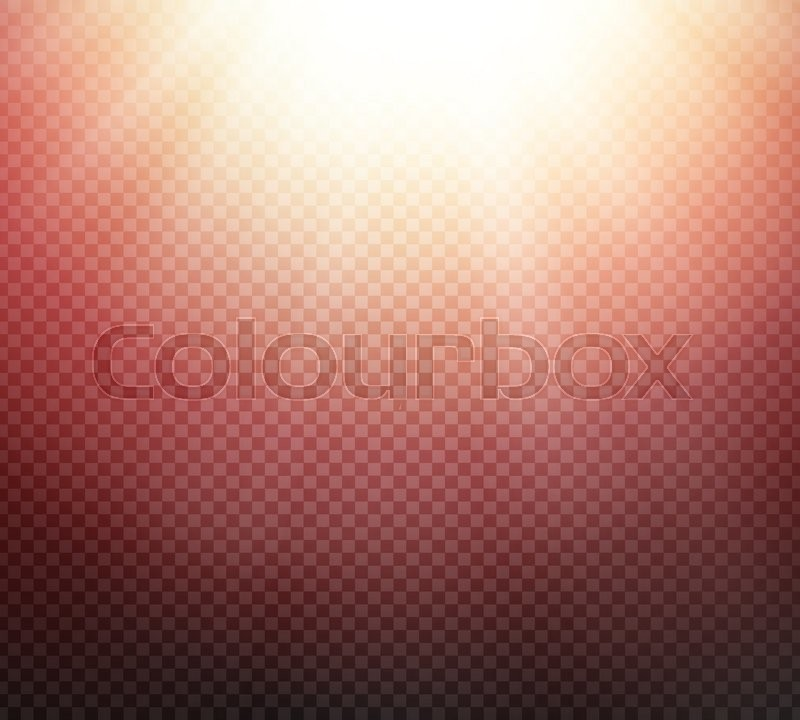 Sunlight Or Burst Special Light Effect On Transparent Background Glowing Sun Rays And Red Toned Radiance With Transparency
