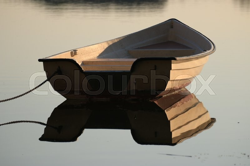 Stock foto af 'Boat at the lake'