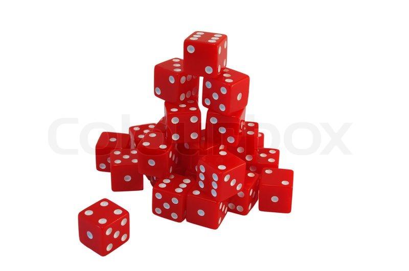 rote casino würfel