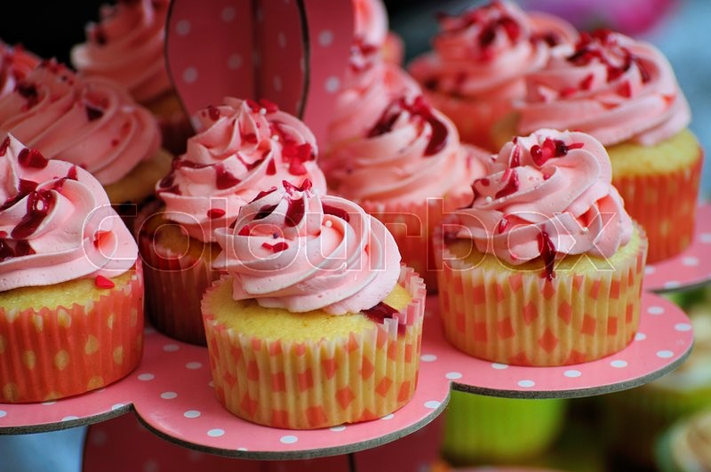 Stock image of 'Cupcake'
