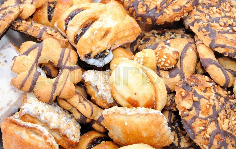 Stock image of 'Mixed cookies '
